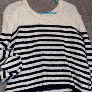 BP Nordstrom's comfy stripped sweater